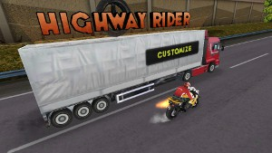 Highway Rider メニュー画面