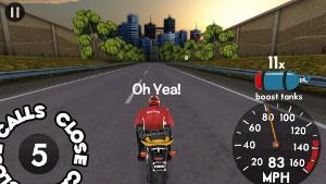 Highway Rider プレイ画面2