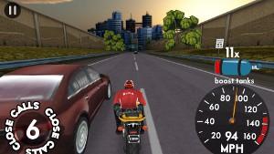 Highway Rider プレイ画面3