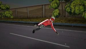 Highway Rider ゲームオーバー