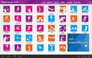 ロンドンオリンピック公式アプリ2