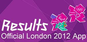 ロンドンオリンピック公式アプリ ヘッダー