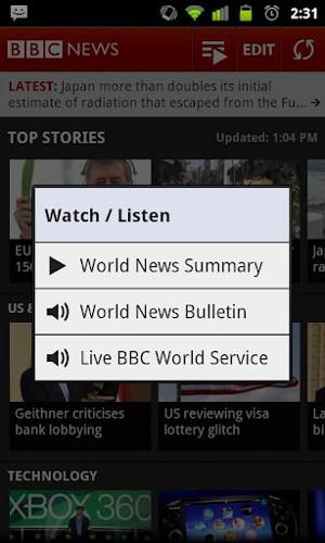 BBC News ストリーム画面2