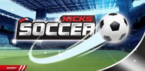 サッカーボール Soccer Kicks ヘッダー