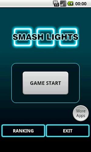 スマッシュライツ Smash Lights タイトル画面