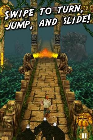 Temple Run プレイ画面1
