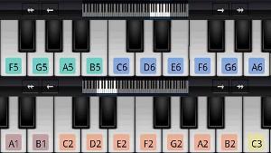 パーフェクトピアノ プレイ画面2