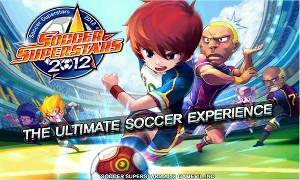 サッカースーパースターズ2012 タイトル画面