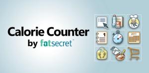 FatSecretのカロリーカウンター ヘッダー