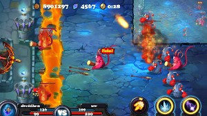 Defender II プレイ画面2