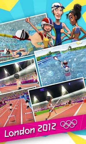 ロンドン2012-オリンピック公式モバイルゲーム メディア1