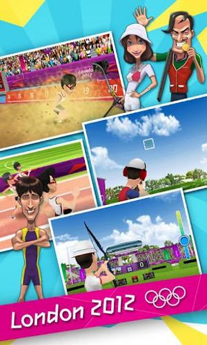 ロンドン2012-オリンピック公式モバイルゲーム メディア2