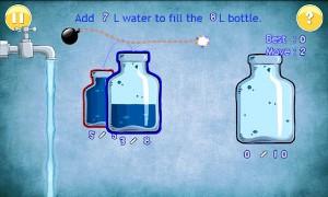 水を満たすゲーム プレイ画面2