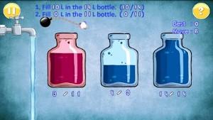 水を満たすゲーム プレイ画面3