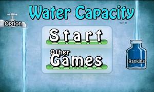 水を満たすゲーム ヘッダー