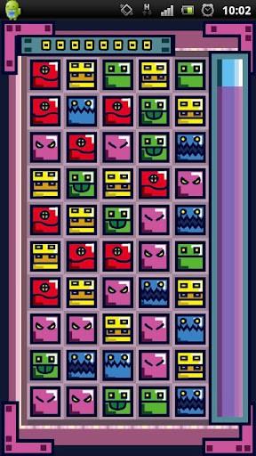 超快感連鎖ゲー!BOX COMBO プレイ画面