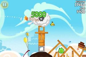 Angry Birds プレイ画面2