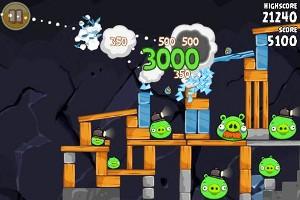 Angry Birds プレイ画面3