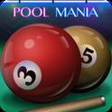 『プールマニア(Pool Mania)』 初心者でもパズル感覚で楽しめるビリヤードゲーム!
