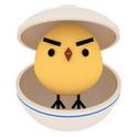 『ぴよ盛り』 ゆるカワヒヨコを丼に盛っていく積みゲー