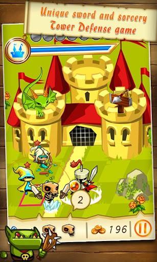 Fantasy Kingdom Defense HD プレイ画面1