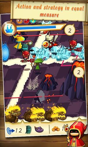 Fantasy Kingdom Defense HD プレイ画面2