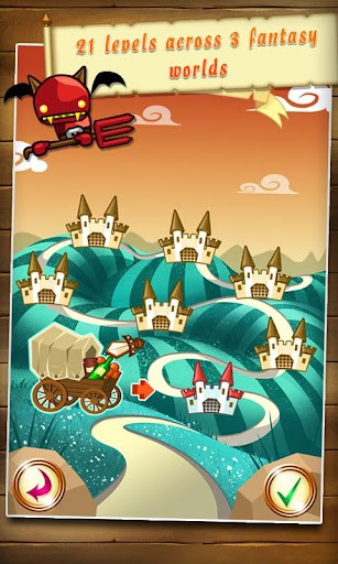 Fantasy Kingdom Defense HD プレイ画面3