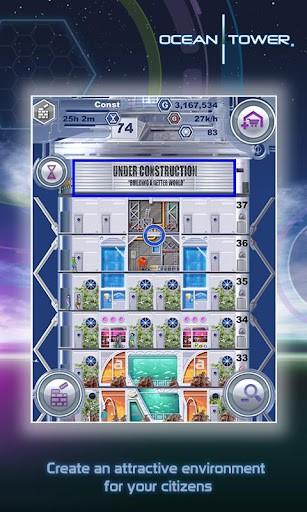 Ocean Tower プレイ画面1