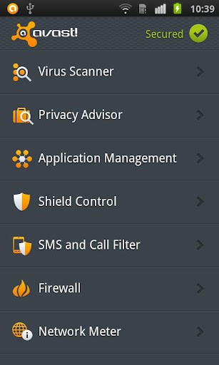 avast! Mobile Security メディア1