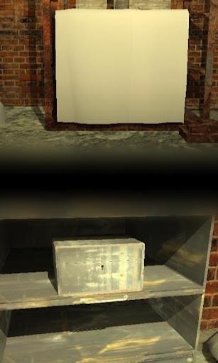 old basement -地下倉庫からの脱出- プレイ画面2