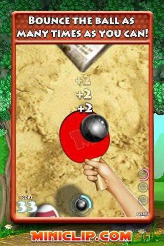 Ping Pong プレイ画面1