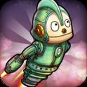 『ロボット冒険』 レトロ感と近未来感ある縦スクロールゲーム!
