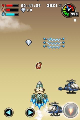 ロボット冒険 プレイ画面1