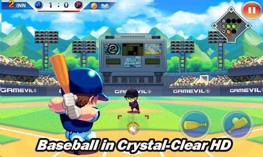 ベースボールスーパースターズ 2012 プレイ画面1