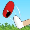 『ぼくらのくつとばし』 懐かしの遊びでキミの「ベスト角度」で遠くに飛ばそう!