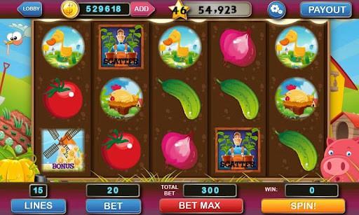 スロットマシン Slot Machine Deluxe プレイ画面1