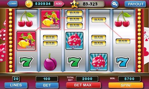 スロットマシン Slot Machine Deluxe プレイ画面2