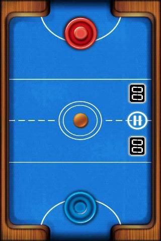 エアホッケー Air Hockey Deluxe プレイ画面3