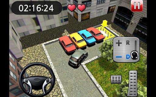 RealParking3D駐車場ゲーム プレイ画面3