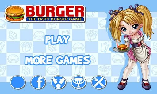 バーガー プレイ画面1